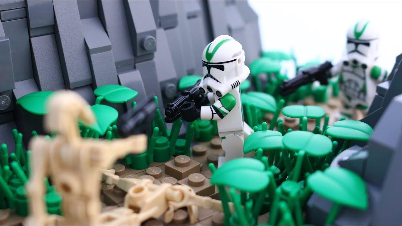 Lego Star Wars Battle Of Cato Neimoidia Clone Wars Moc Youtube