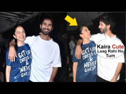 Shahid Kapoor Openly FLIRTS With Kaira Advani In Front Of Media At Kabir Singh Movie Promotion