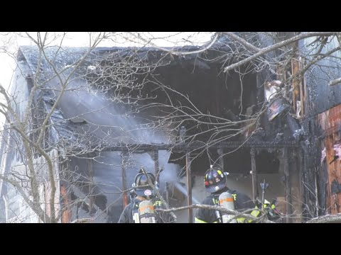 VIDEO: Firefighters Battle Propane Tank Blaze At Bergen/Rockland Border