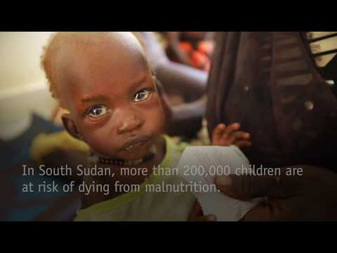 East Africa Crisis: Children are starving in South Sudan