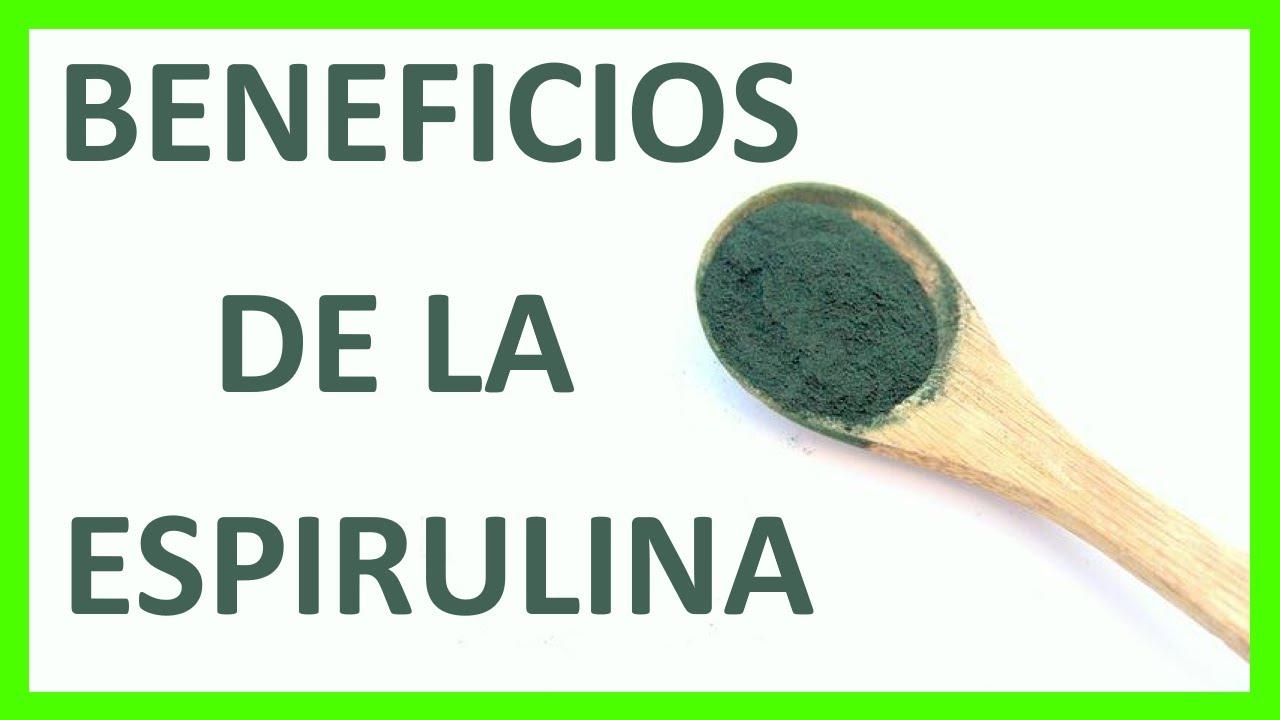 Beneficios De La Espirulina Para La Salud Humana Youtube