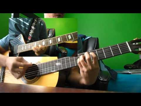 Hinder - Lips of an Angel all guitars cover