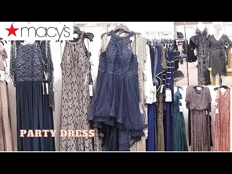 Macy's Womens Cocktail & Party Dresses Bridesmaid Dresses Evening DRESSES Womens  SHOP  WITH ME