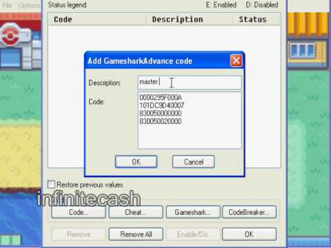 How to get infinite cash on <b>pokemon fire red</b> vba - YouTube