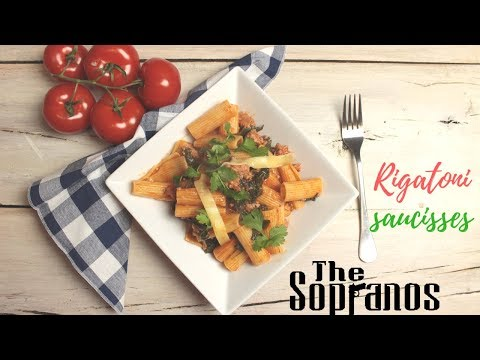 rigatoni-saucisse:-la-recette-des-soprano.