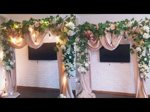 Арки на свадьбу своими руками
