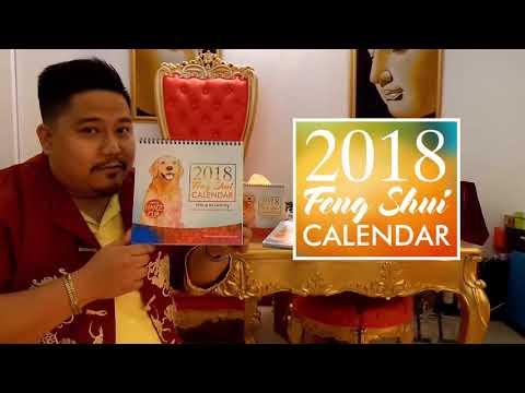 Feng Shui Calendar 2018   8 Treasures House of Mystical Charms