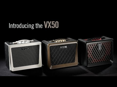 Introducing the VOX VX50 Series