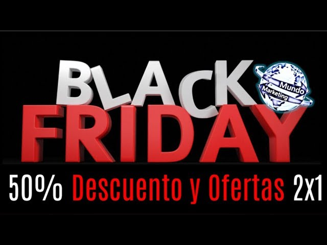 PROMOCION DE CURSOS DE MARKETING ONLINE - BLACK FRIDAY COLOMBIA