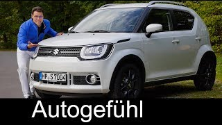 Suzuki Ignis FULL REVIEW test 1.2 Allgrip Maruti 2018 all-new neu - Autogefühl