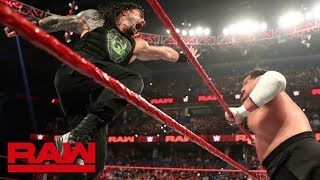 Roman Reigns vs. Samoa Joe: Raw Reunion, July 22, 2019