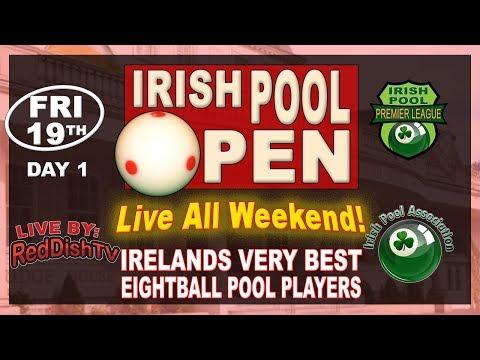 O'Donoghue V O'Neill, O'Donoghue V O'Gorman - Irish Premier Pool 2017/2018