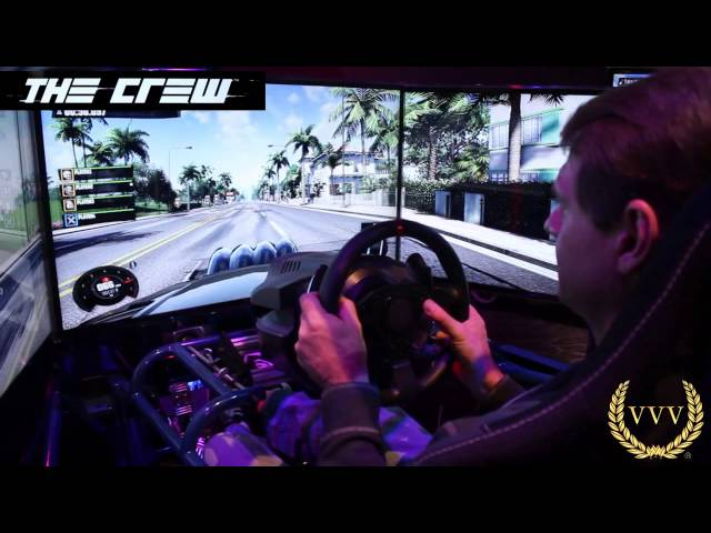 The Crew Triple Screen Multiplayer Mode Gameplay E3 2013