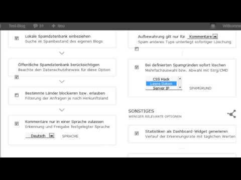 WordPress: Antispam Bee richtig einstellen und Spam minimieren