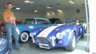 1966 Shelby Cobra for sale with test drive, driving sounds, and walk through video