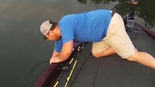 Surprising catch shocks fisherman