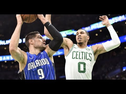 Orlando Magic vs Boston Celtics - Full Game Highlights - October 22, 2018