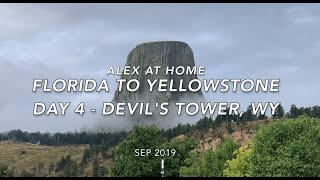 Driving an Airstream RV from Florida to Yellowstone, WY - Day 4 Devil's Tower National Monument, WY