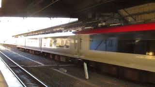 特急成田エクスプレス32号大船・新宿行E259系佐倉駅高速通過