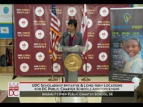 Mayor Bowser Announces UDC Scholarship Initiative, 2/5/16