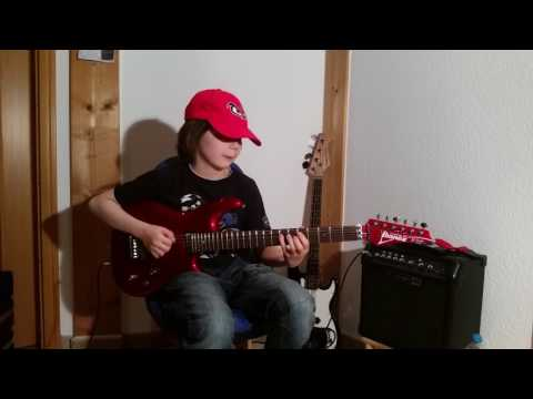 Dustin Tomsen 12 years old covers Joe Satriani