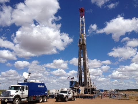 North American Drilling Corporation: Brazelton Well # 2A Drilling Video Tour .