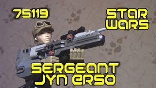 [ОБЗОР ЛЕГО] STAR WARS 75119 Сержант Джин Эрсо