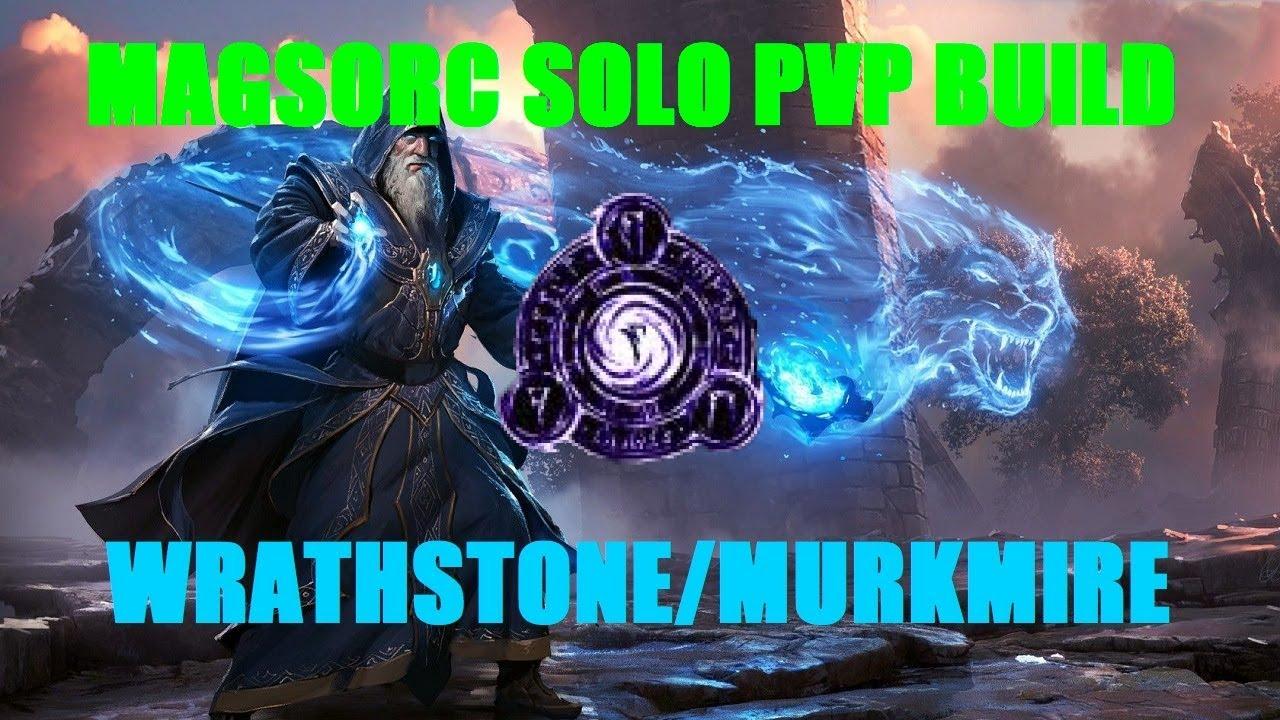 Magicka Sorcerer Solo PVP Build - ESO Wrathstone/Murkmire