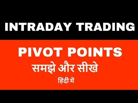 Intraday trading for beginners - Pivot points - समझे और सीखे