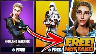 """*NEW* How To Get """"HIGHLAND WARRIOR"""" SKIN for FREE! - (Fortnite Battle Royale)"""