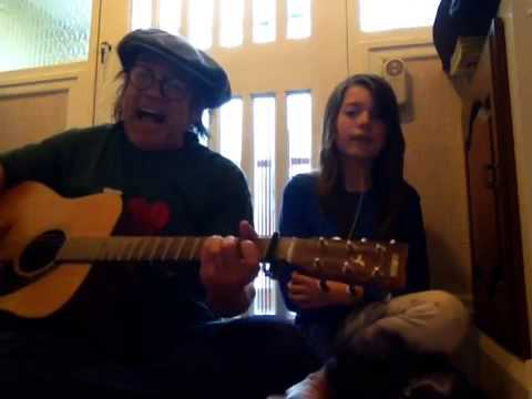Mike and The Mechanics - In The Living Years - Acoustic Cover - Danny McEvoy ft. Jasmine Thorpe