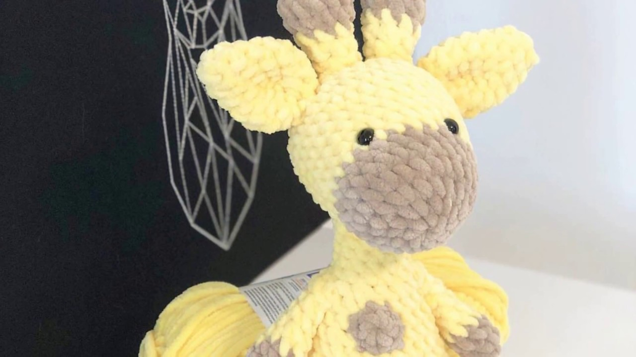 Crochet Giraffe PATTERN Amigurumi giraffe pattern pdf tutorial ... | 720x1280