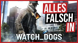 Alles falsch in WATCH_DOGS | GameSünden [Satire]