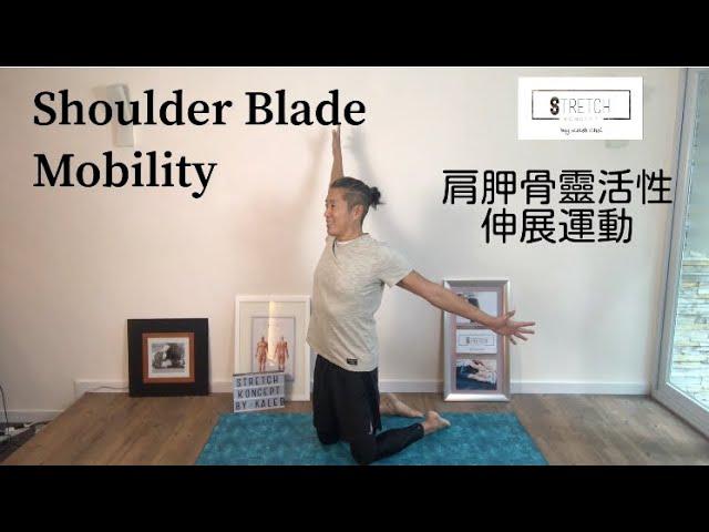 [一分鐘・鬆一鬆] - 肩胛骨靈活性伸展運動 [One Minute Stretching] - Shoulder Blade Mobility
