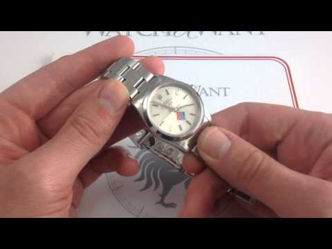 """Rolex Oyster Perpetual Air-King 14000 """"Dominos Rolex Challenge"""" Luxury Watch Review"""