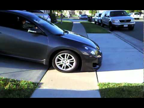 3 5se Altima Coupe Lowered Youtube