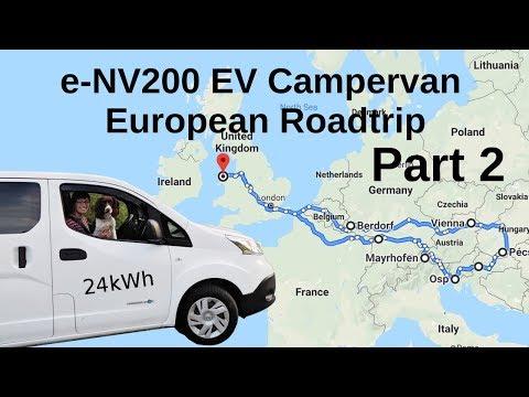 E-NV200 EV Campervan European Roadtrip: Part 2 Austria, Italy, Slovenia,