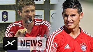 Thomas Müller zu James: Einfach nur eine Option mehr | FC Bayern München | Bundesliga