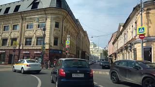 . Москва-Хитровка. Поездка на автомобиле по городу