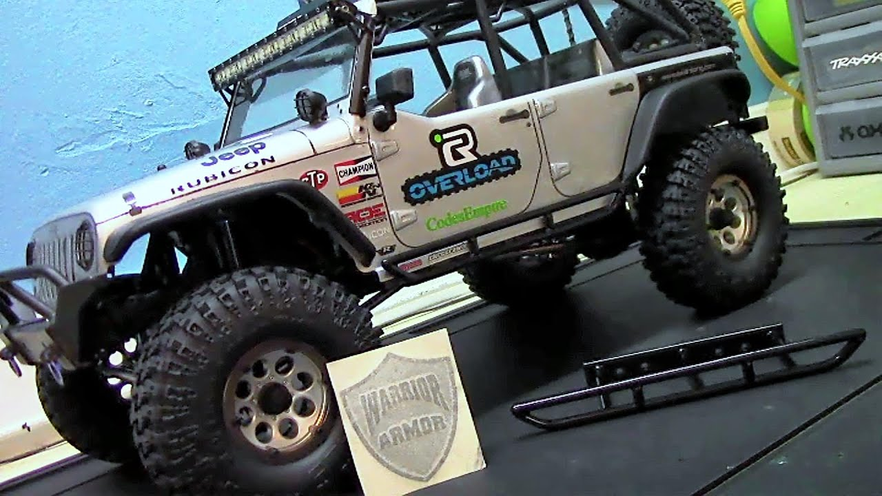 Warrior Armor Rock Rails Axial Scx10 Jeep Wrangler
