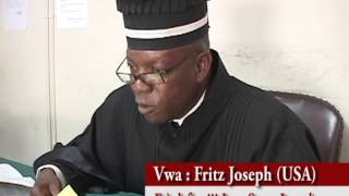 Le frère du juge Jean Serge Joseph n