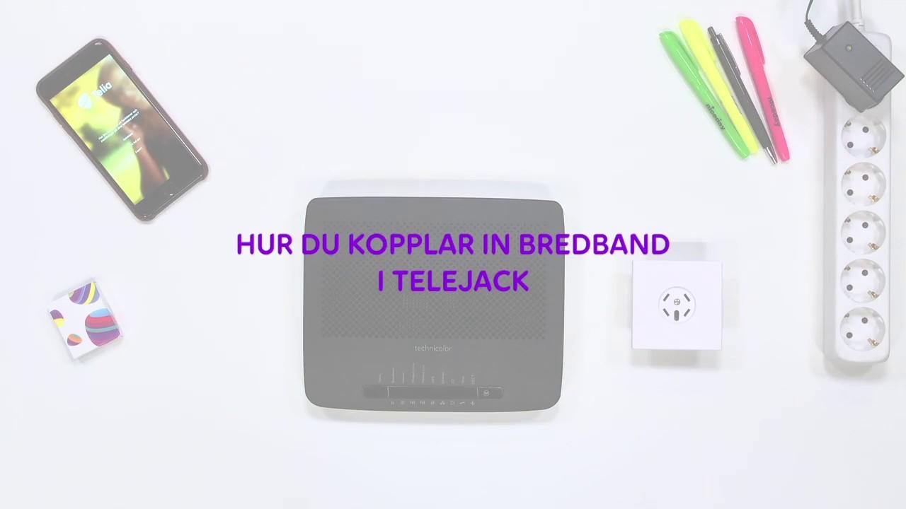 billigaste bredband via telejacket