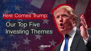 Here Comes Trump: Our Top Five Investing Themes