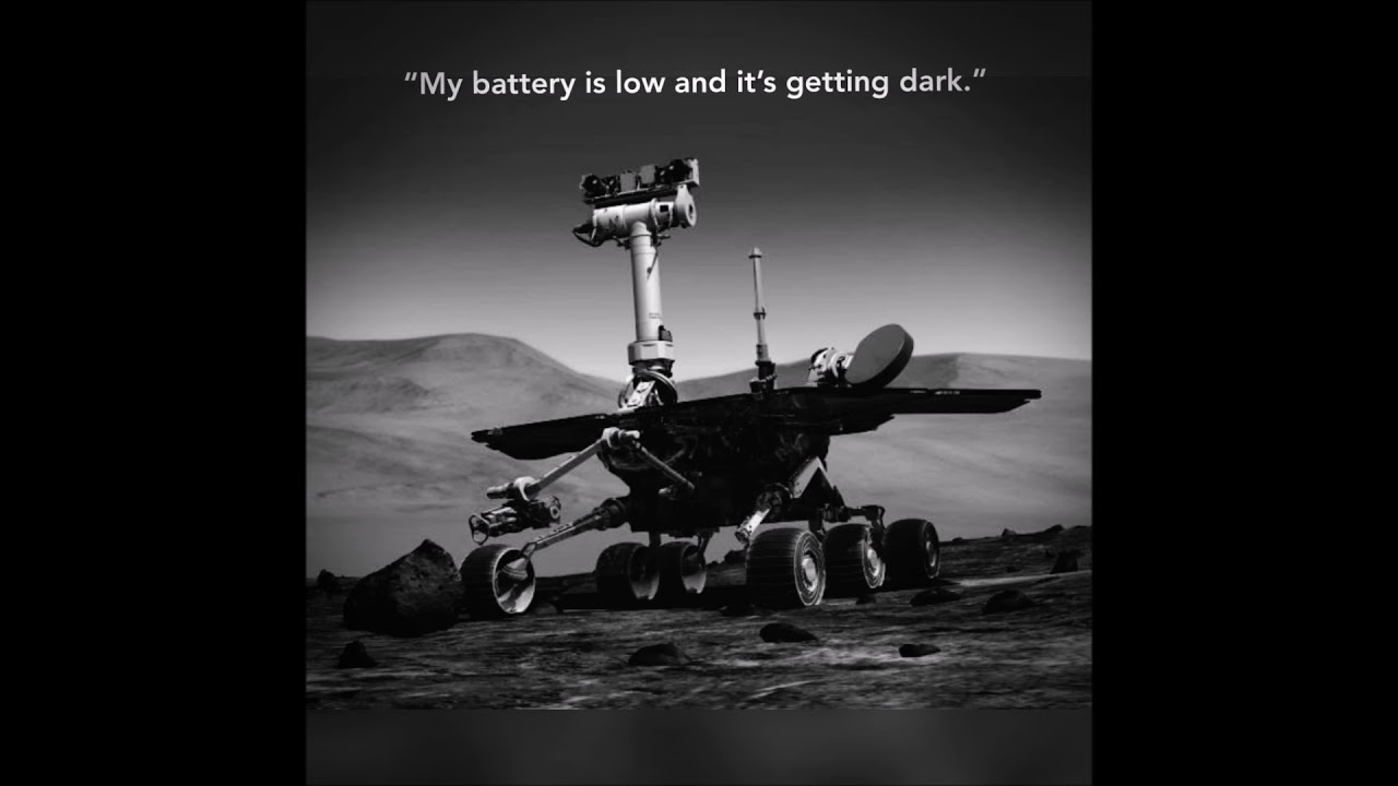 mars rover battery low getting dark - photo #5