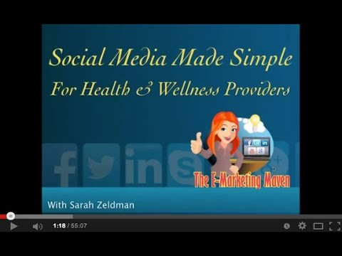 Social Media Made Simple For Holistic Health & Wellness Practitioners
