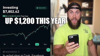 I Got Paid $165 In Dividends And Made $1,200 | My $7,800+ Robinhood Stock Portfolio