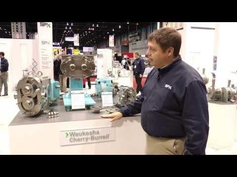 SPX Flow Pumps At Process Expo 2013