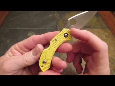 Spyderco Dragonfly 2 Salt Review:  VooDoo Steel and Big Time