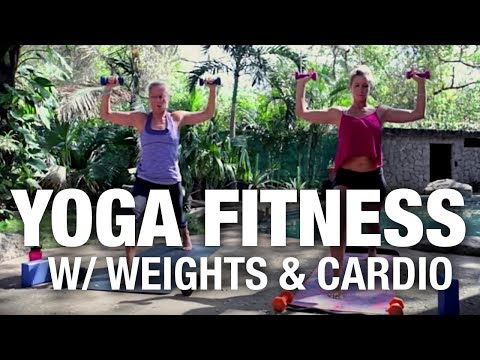 Yoga Fitness Class with Weights - Five Parks Yoga