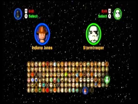 Lego Star Wars Complete Saga All Characters Unlocked Even